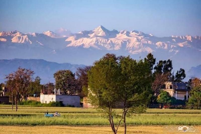 Munții Himalaya se văd pentru prima data, în India, în ultimele decenii. Nivelul poluării a scăzut | DeStiut.ro