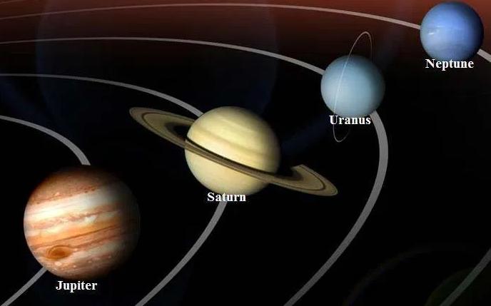 Saturn, Uranus și Neptun: ca și în cazul lui Jupiter, te-ai confrunta cu o atmosferă gazoasă și, în final vei fi strivit de presiunea atmosferică. Nici măcar inelele lui Saturn nu ți-ar oferi o suprafață stabilă pentru a merge mai departe. (supraviețuire: < 1 secundă)