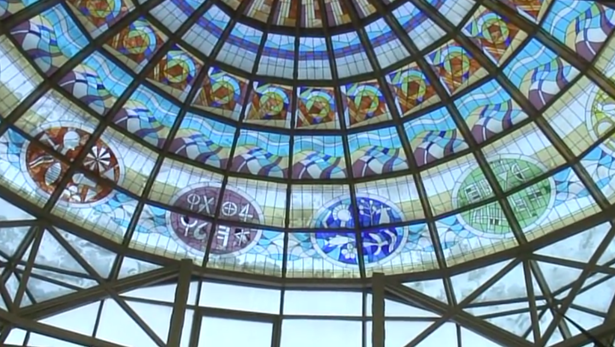 Cea mai mare cupolă cu vitralii: Biblioteca Județeană Râmnicu Vâlcea intră în Cartea Recordurilor | DeStiut.ro